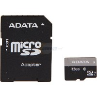 ADATA 32GB Premier UHS-1 CL10 Micro SDHC With Adapter