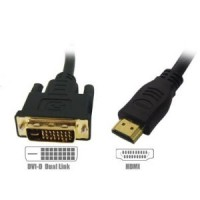 HDMI to DVI Cable 1metre
